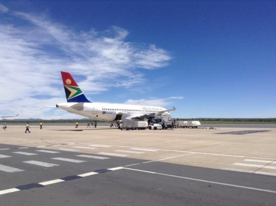 Hosea kutako Int. Airport ナミビア国際空港