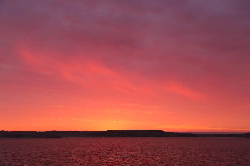 Luderitz Sunset 夕焼け