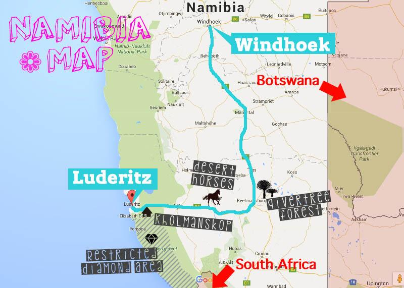 Luderitzマップ